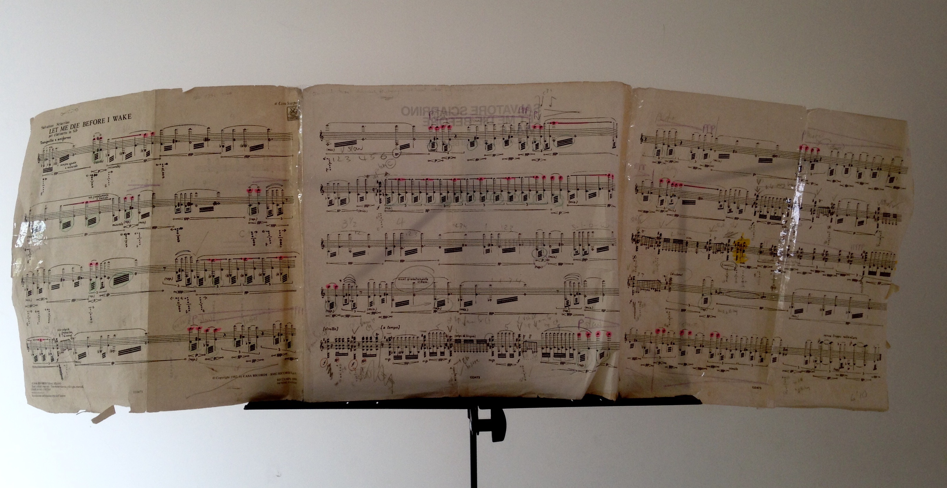 A beautiful landscape:  the well-trodden path through a much-loved score